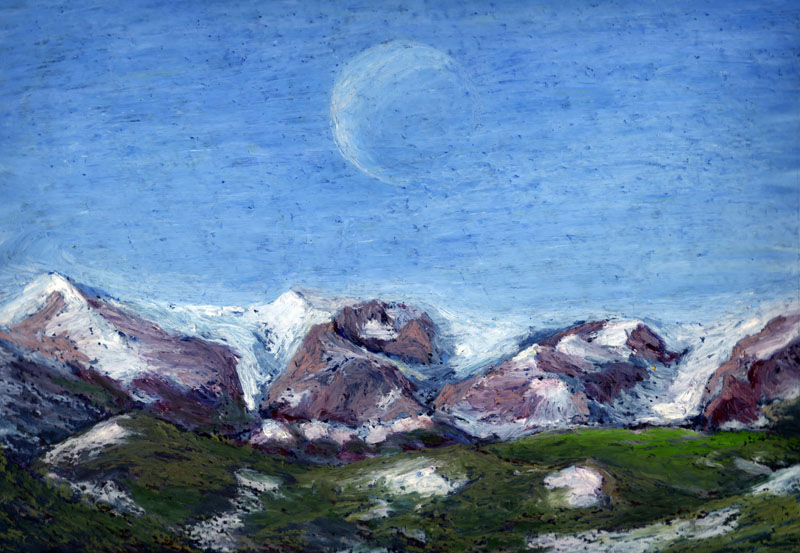 Moon over Rocky